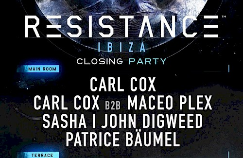 RESISTANCE closing party in Privilege