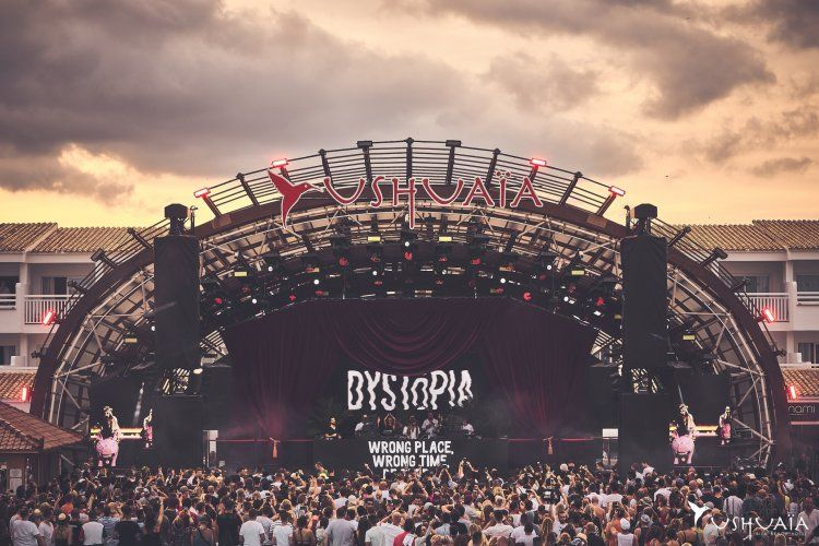 Dystopia Closing Party in Ushuaïa