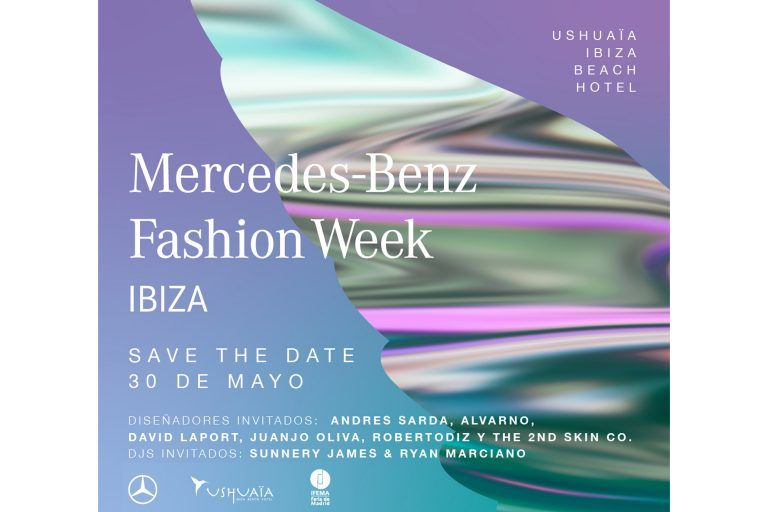 Mercedes-Benz Fashion Week Ibiza 30 mei in Ushuaia