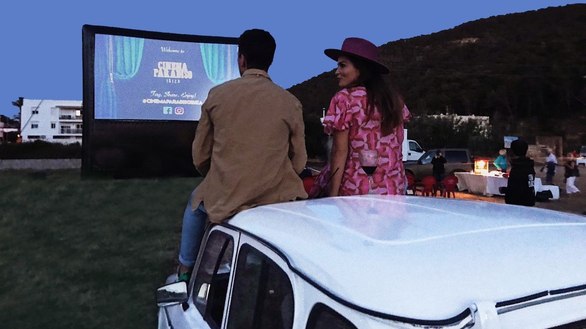 Drive-in bioscoop Ibiza